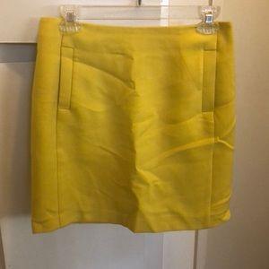 Banana Republic mini A line skirt